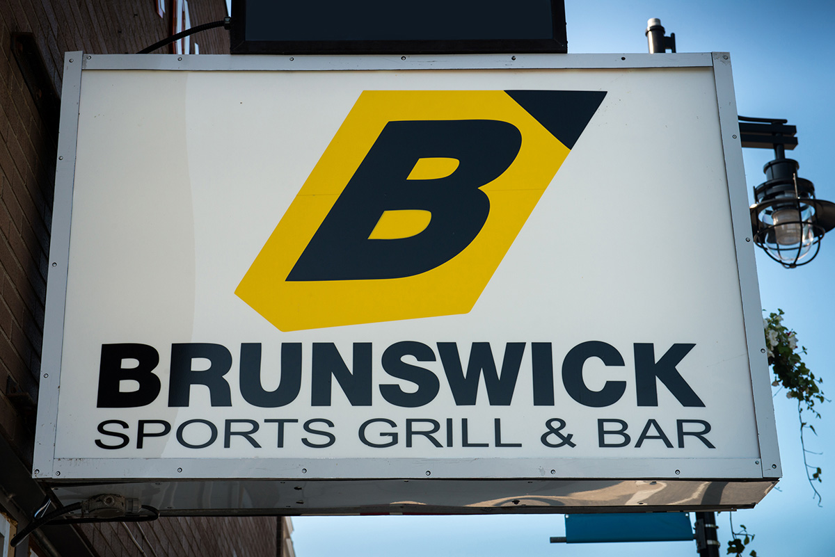 Brunswick Sign Board