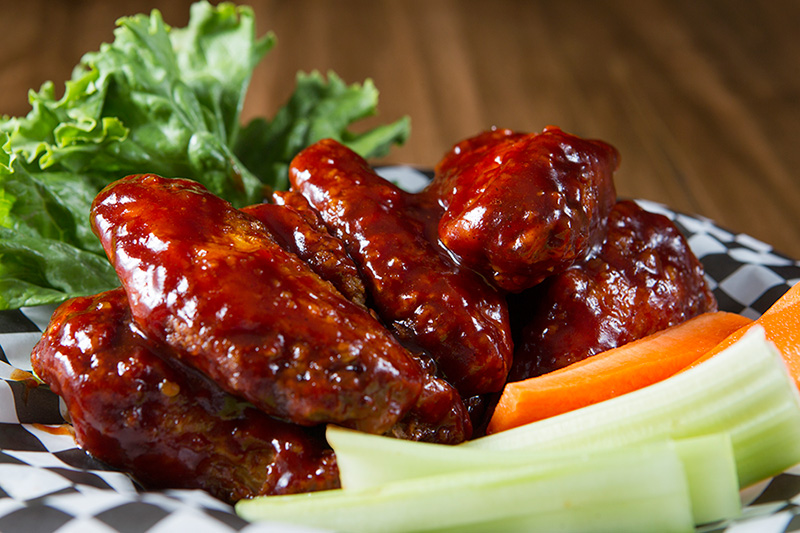 Voted as best wings in Parry Sound