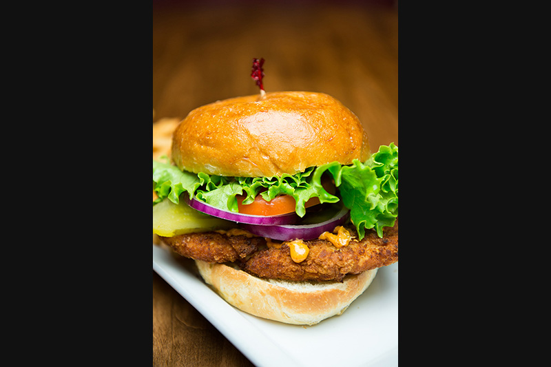 Try our burger! Best burger in Parry Sound